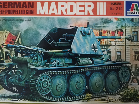 Italeri 1/35 Marder III German Self-Propelled Gun (ITA210)