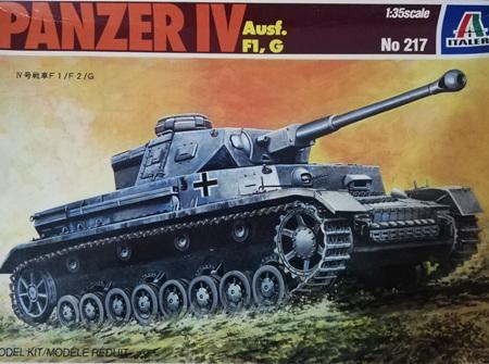 Italeri 1/35 Panzer IV Ausf. F1, F2, G (ITA217)