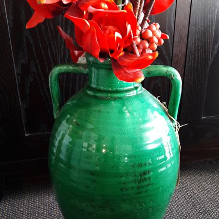 Italian Urn Teal - $200