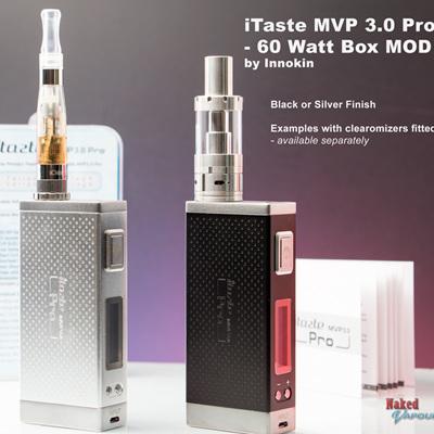 iTaste MVP 3.0 Pro - 60 Watt  Box MOD
