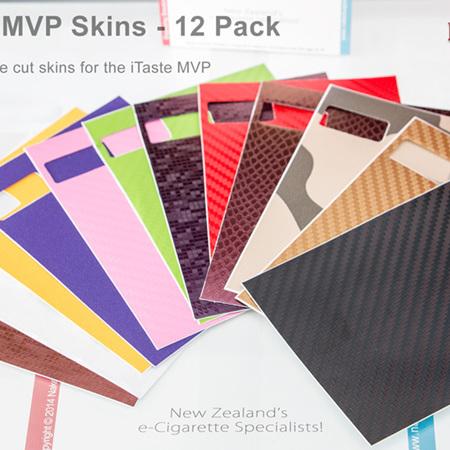 iTaste MVP Skins - 12 Pack