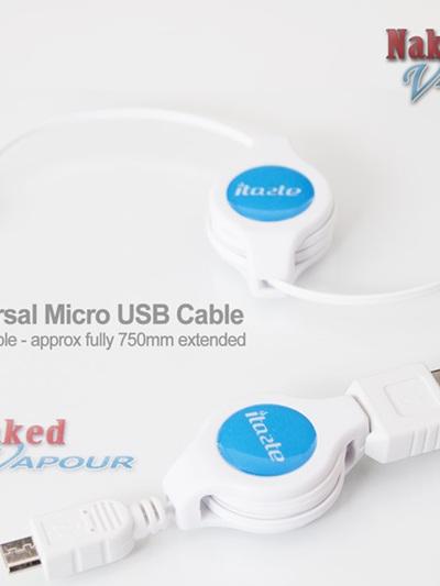 iTaste Universal Micro USB Cable - Retractable