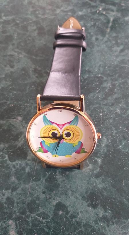 Its a Hoot - OWL WATCH - BLACK
