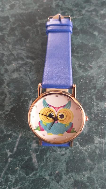 Its a Hoot - OWL WATCH - BLUE