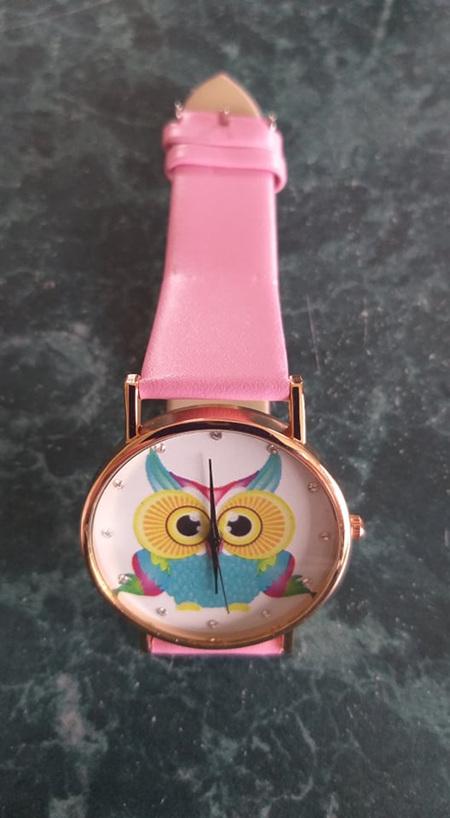 Its a Hoot - OWL WATCH - Pink