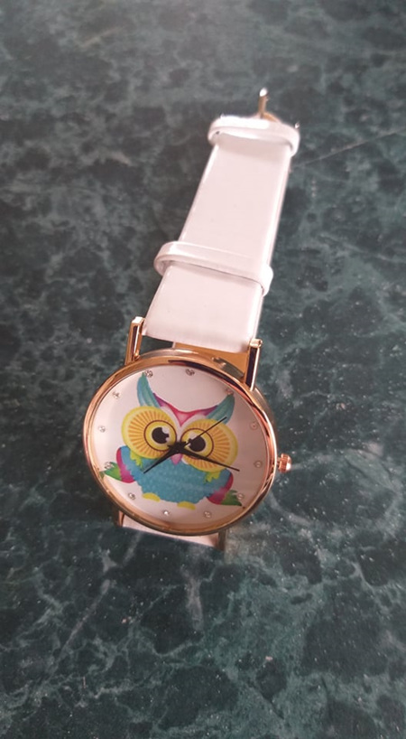 Its a Hoot - OWL WATCH - WHITE