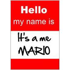 Mario Fridge Magnet
