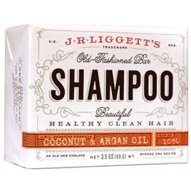 J.R. Liggett's Virgin Coconut and Argan Oil Shampoo Bar