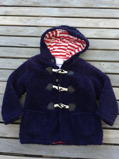 Jacaohadi Marine hooded Jacket