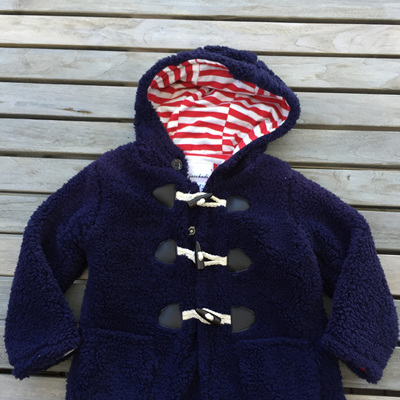 Jacaohadi Marine hooded Jacket