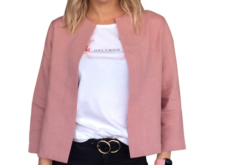 Jackie 0 Jacket - Blush