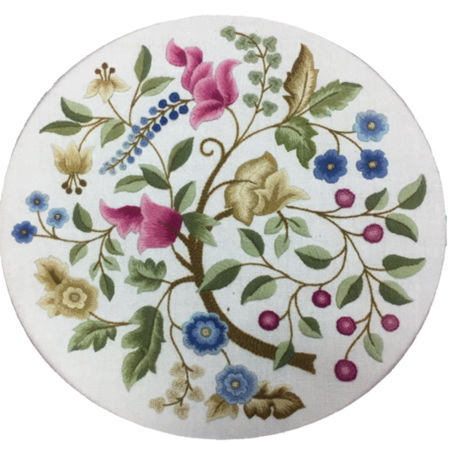 Jacobean Bower Crewel Embroidery Kit by Nancy Robb