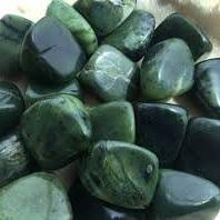 Jade Canadian Nephrite Tumbled