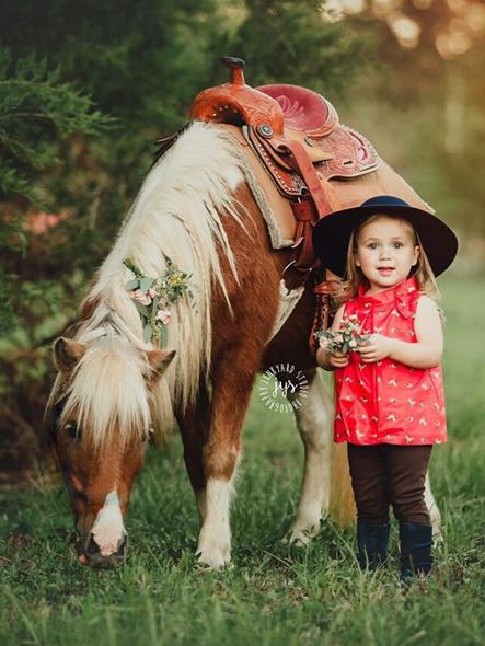 Jaine and Jack pony shirt - pre order