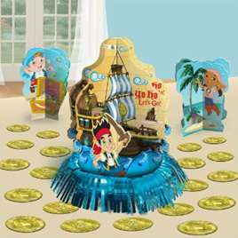 Jake & the Neverland Pirates -  Table Decorating Kit