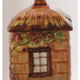 Jam pot or square sugar pot