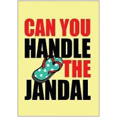 Jandal Fridge Magnet