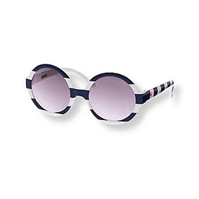 Janie and Jack Navy and white Sunglasses