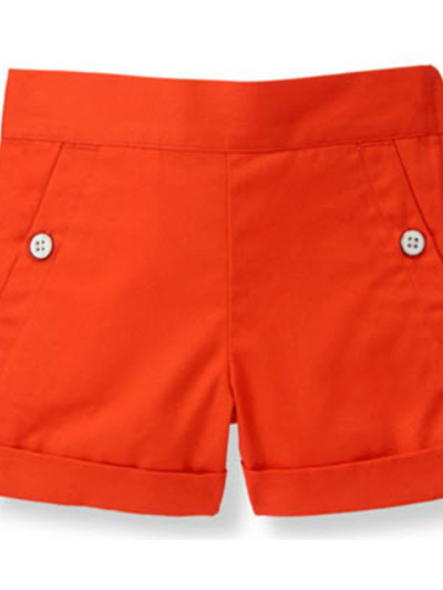Janie and Jack Orange Shorts