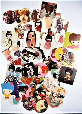 Japanese Doll Stickers