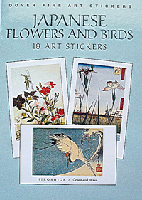 Japanese Flower and Bird Stickers