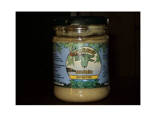 jar of macadamia nut butter