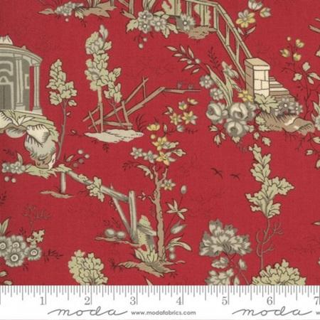 Jardin De Fleurs Champs De Mars Rouge 13890-11