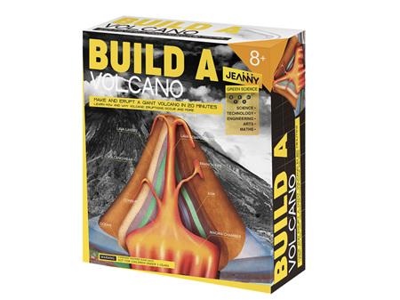 Jeanny Build a Volcano