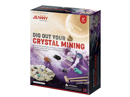 Jeanny Dig Out Crystal Mining