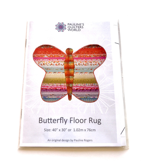 Jelly Roll Butterfly Rug Pattern