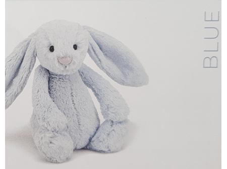 Jellycat Bashful Bunny Baby Blue Medium 31cm