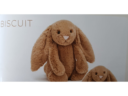 Jellycat Bashful Bunny Biscuit Small 18cm