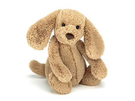 JELLYCAT MED TOFFEE PUPPY