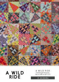 Jen Kingwell - A Wild Ride Pattern & Acrylic Templates