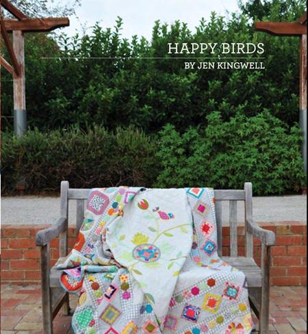 Jen Kingwell - Happy Birds