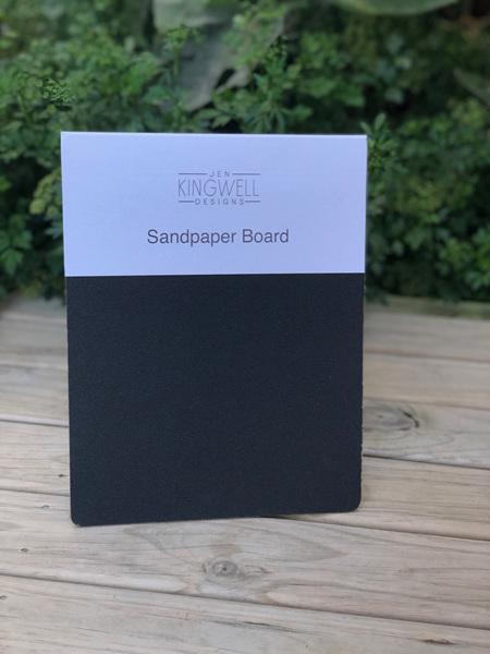 Jen Kingwell Sandpaper Board