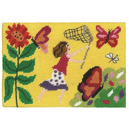 Jennifer Pudney Postcard - Chasing Butterflies