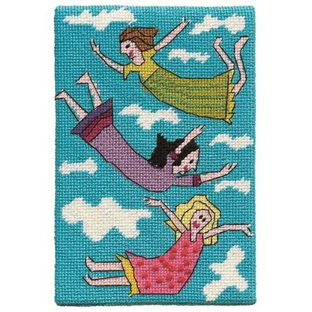 Jennifer Pudney Postcard - Floating Around in Frocks