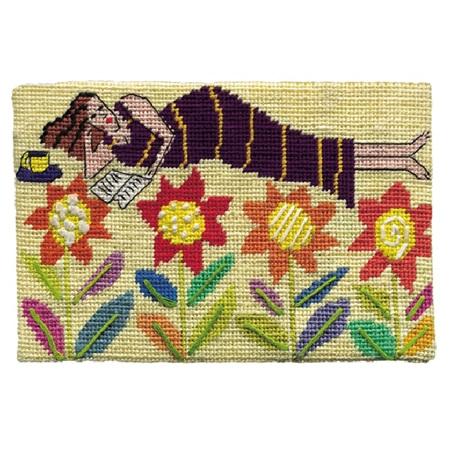 Jennifer Pudney Postcard - Flower Bed