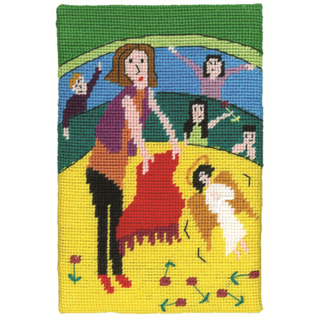 Jennifer Pudney Postcard - Like a Red Rag to an Angel