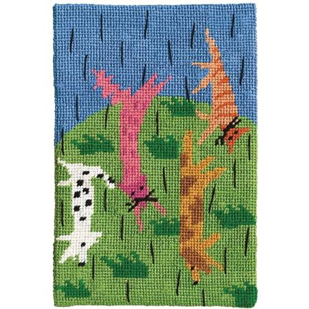 Jennifer Pudney Postcard - Raining Cats and Dogs