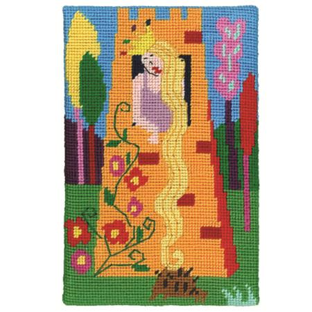 Jennifer Pudney Postcard - Rapunzel