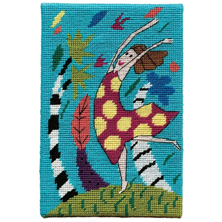 Jennifer Pudney Postcard - Wind Dancer Blue Skies