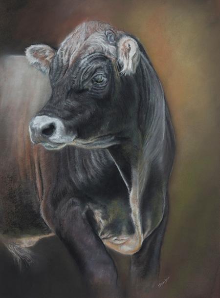 Jersey Bull by Julie Davidson