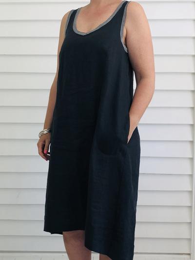 Jessica Singlet Dress COFFEE