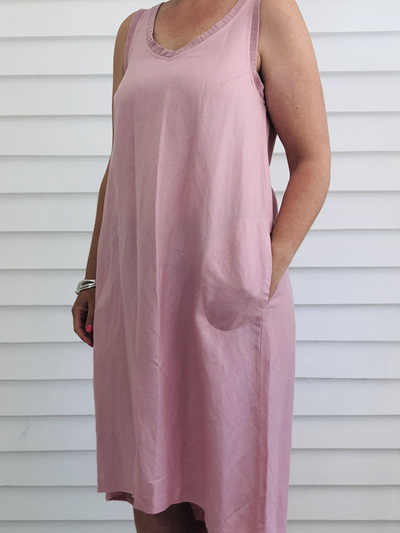Jessica Singlet Dress PINK