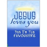 Jesus Love You Fridge Magnet