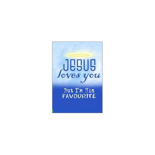 Jesus loves you fridge magnet