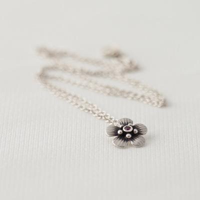 Jewelled Manuka Charm Necklace