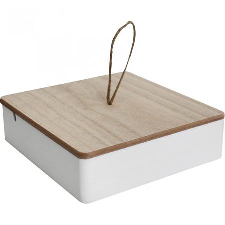 JEWELLERY BOX WHITE